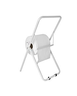 dispensador de pie celulosa industrial 39,5x90 cm blanco hierro (1 unid.)