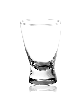 "mini vaso ""cordial"" 2 oz Ø5,5x8 cm transparente cristal (72 unid.)"