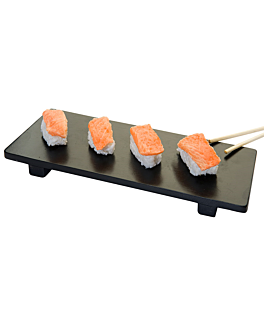 sushi base 50x23x2,5 cm black bamboo (1 unit)