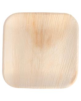platos cuadrados 'areca' 18x18x1,5 cm natural areca (200 unid.)
