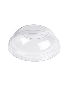 dome lids for containers 230.27/222.89/217.58 Ø 7,7 cm clear pet (2000 unit)