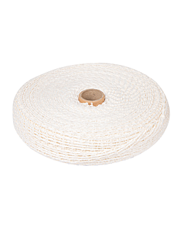 rete elastica - 16 maglie 50 m bianco poliestere (1 unitÀ)