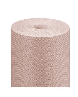 nappe 'like linen' 70 g/m2 1,20x25 m chocolat spunlace (1 unitÉ)