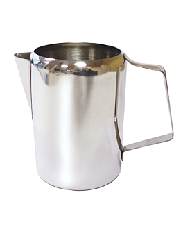 milk jug without lid 600 ml silver stainless steel (1 unit)