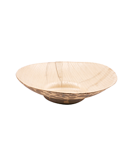 tarrinas Ø 8,5x2 cm natural bambÚ (1000 unid.)