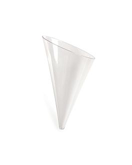 conos 45 ml 5,8x4,1x9,8 cm transparente ps (576 unid.)
