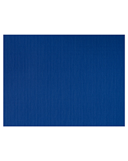 table mats 45 gsm 30x40 cm blue recycled (2000 unit)