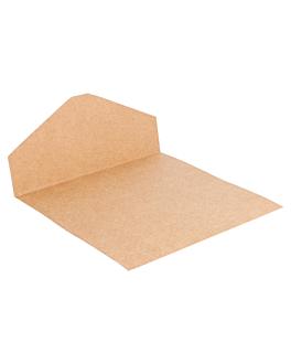 bandejas para bolsas 204.97 275 g/m2 20,5x14,5 cm natural kraft (250 unid.)
