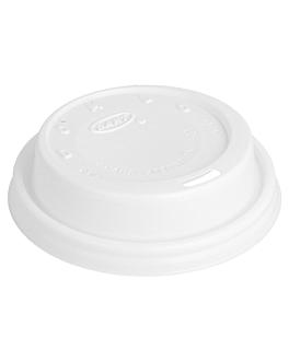 couvercles pour rÉfs. 150.36/47 'capuccino' Ø 8,5 cm blanc pse (1000 unitÉ)