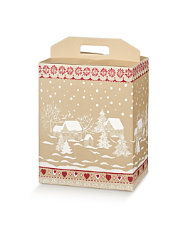 50 u. cajas botellas/otros 28x20x35 cm marrÓn cartÓn (1 unid.)