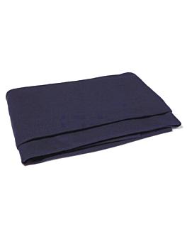 blanket, flame retardant 100x150 cm blue pp (25 unit)