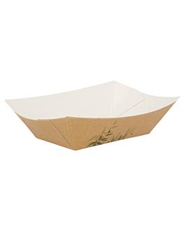 barchette 'feel green' 240 g 300 g/m2 8,5x5x4 cm marrone cartone (200 unitÀ)