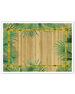 """sets de table offset """"palmiers"""" 70 g/m2 31x43 cm quadrichromie papier (2000 unitÉ)"""