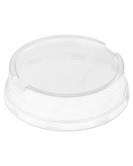 tapas altas para recipientes 206.08/09/11/25/26/27  transparente pet (100 unid.)