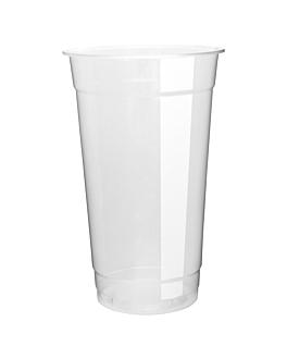 copo 660 ml Ø 9,5x15 cm transparente pp (1000 unidade)