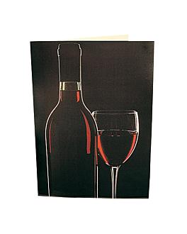 "carta 2 cuerpos ""bodega"" 48x33 cm surtido cartoncillo (1 unid.)"