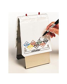"""distributeur de sacs """"tuff-gards"""" (520,76/81) 25,5x22 cm argente laiton (1 unitÉ)"""