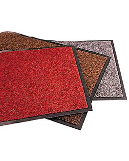 """tapis """"atlantic"""" 120x180 cm gris metÁlico vinyl (1 unitÉ)"""