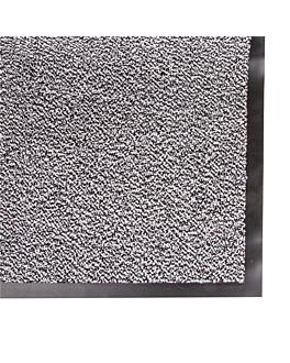 """""""atlantic """" carpet 120x180 cm gris metÁlico vinyl (1 unit)"""