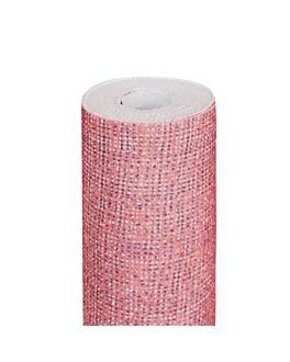 tablecloth 'like linen - aurora' 70 gsm 1,20x8 m fuchsia spunlace (9 unit)