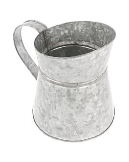 pichet 1,2 l Ø 11,5x15,5 cm galvanisÉ acier (1 unitÉ)