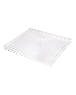 tray for item 119.14 37,4x33,5x2,5 cm clear methacrylate (1 unit)