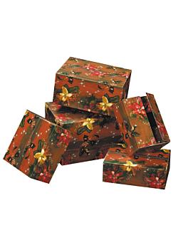 25 christmas box 55x39x30 cm assorti carton (1 unitÉ)