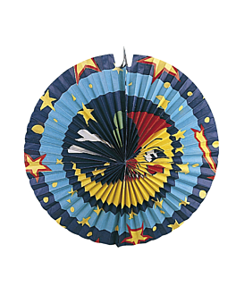 "lantern ""moon"" 50 cm assorted paper (1 unit)"