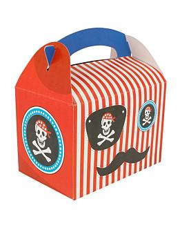"""boÎtes menu enfant """"pirate"""" 320 g/m2 17x16x10 cm quadrichromie carton (300 unitÉ)"""