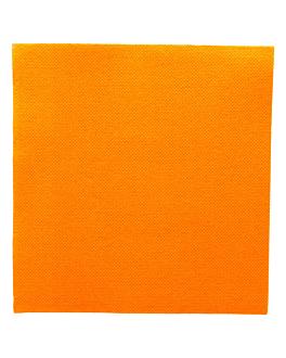 serviettes ecolabel 'double point' 18 g/m2 33x33 cm clementine ouate (1200 unitÉ)