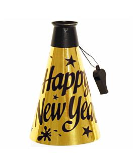 """mÉgaphones """"new year"""" 23 (h)cm or (24 unitÉ)"""
