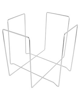 porta tovallons 22x22x18 cm platejat filferro (1 unitat)