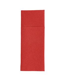 "napkins ""cangurito"" 55 gsm 33x40 cm burgundy airlaid (700 unit)"