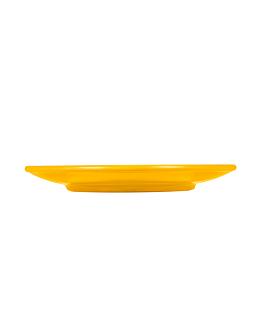 piatti Ø 15,3 cm giallo melamina (12 unitÀ)