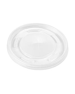 cup lids for codes 229.09/153.84 Ø 8 cm translÚcido ps (2000 unit)