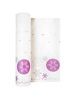 """tÚ y yo""-""snow"" pre 120cm (20 servicios) 55 g/m2 0,40x24 m blanco airlaid (6 unid.)"