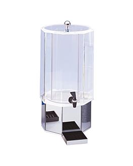 distributore di succhi 11,4 l 55 (h) cm trasparente acrilico (1 unitÀ)