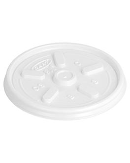 couvercles avec ventilation pour rÉfÉrence 150.47/36 Ø 8 cm blanc pse (1000 unitÉ)