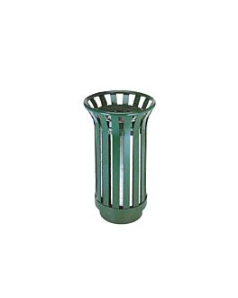 collecteur d'exterieur Ø 39x60 cm vert acier (1 unitÉ)