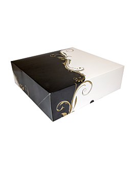 cake boxes without window 300 gsm 32x32x10 cm white cardboard (50 unit)