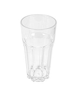 gobelets empilables 355 ml Ø 7,6x13,9 cm transparent polycarbonate (18 unitÉ)