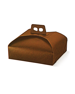 cake for boxes 29x29x7 cm brown cardboard (100 unit)