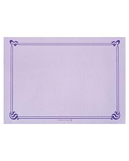 tovagliette 48 g/m2 31x43 cm lavanda cellulosa (2000 unitÀ)
