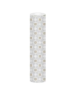 mantel 'allure' 55 g/m2 1,20x25 m blanco airlaid (1 unid.)
