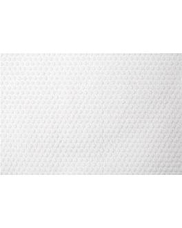 serviette usage unique 80 g/m2 100x60 cm blanc viscose / pulpe (100 unitÉ)