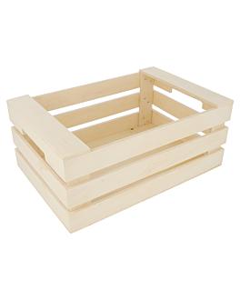 sctola per presentazione 25x17x10 cm naturale legno (20 unitÀ)