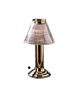 base fine dining 10x24,2 cm dorado metal (1 unid.)