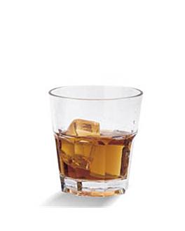 stackable cups 228 ml Ø 6,8x10,2 cm clear polycarbonate (72 unit)