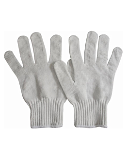 gant maille petit 24x15 cm blanc dyneema (2 unitÉ)