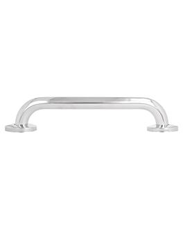 barra de apoyo baÑera 30,5x6,5x6 cm plateado inox (1 unid.)